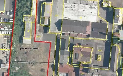 Prodej komerčního pozemku, 8000 m², Drážďanská, Ústí nad Labem - Krásné Březno