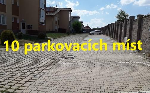 Prodej 10 samostatně vyhrazených parkovacích míst v Hostivicích u Prahy, Unhošťská, Hostivice, okres Praha-západ