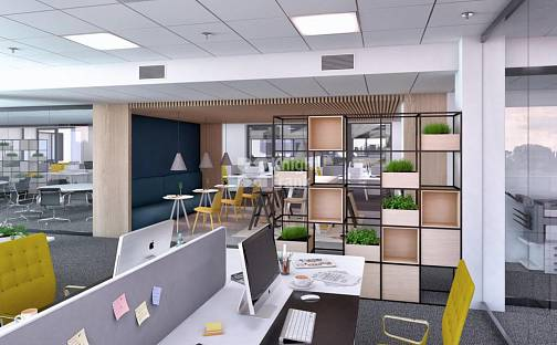 Pronájem kanceláře, 1067 m², Vinohradská, Praha 10 - Strašnice