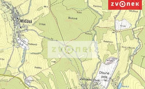 Prodej lesa, 76779 m², Slavičín, okres Zlín