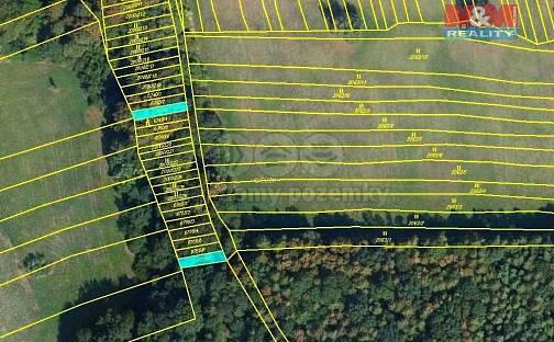 Prodej lesa, 1415 m², Kněždub, okres Hodonín
